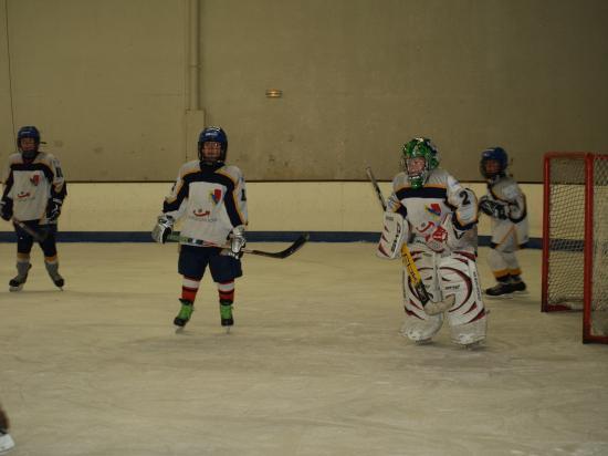 Les U11 de Dijon et leur gardien, meilleur gardien de sa catégorie